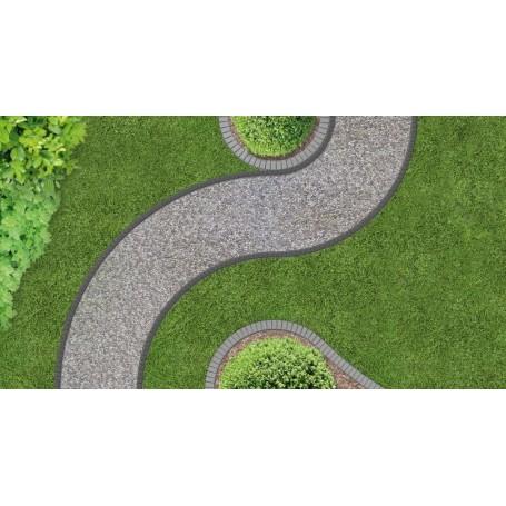 Obrzeże ogrodowe czarne UNIBORD